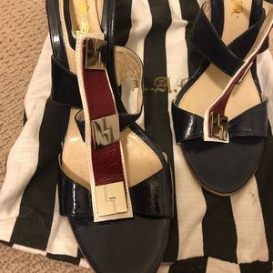L. A. M. B. Strapped shoes